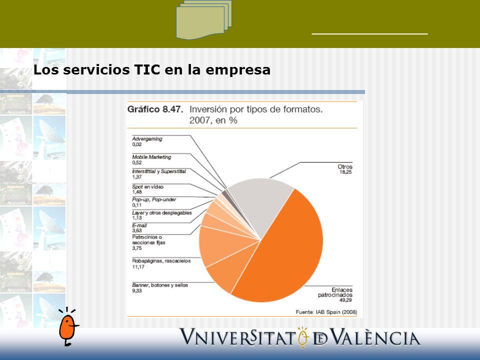 Los servicios TIC en la empresa