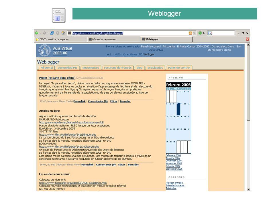Weblogger