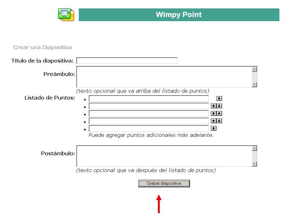 Wimpy Point