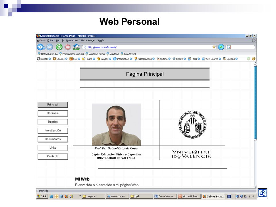 Web Personal