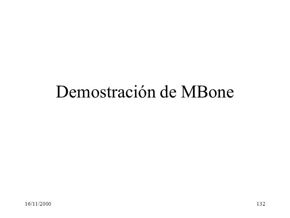 16/11/2000132 Demostración de MBone