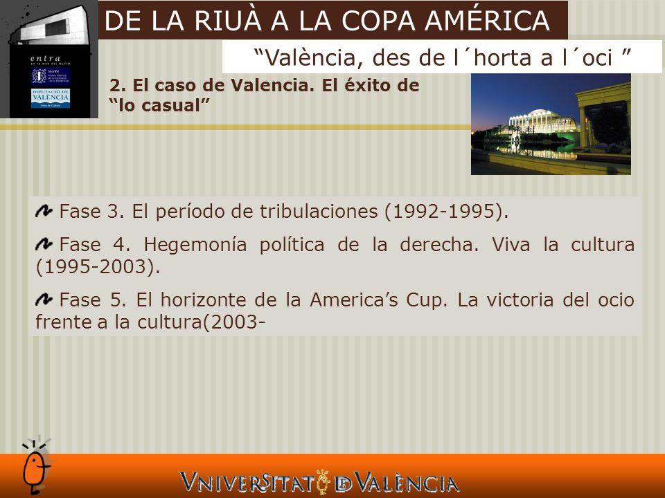 2. El caso de Valencia. El éxito de lo casual Fase 3.