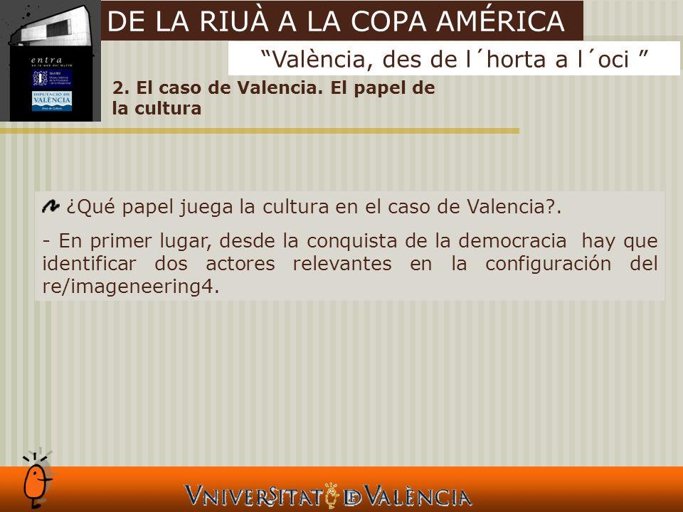 2. El caso de Valencia.