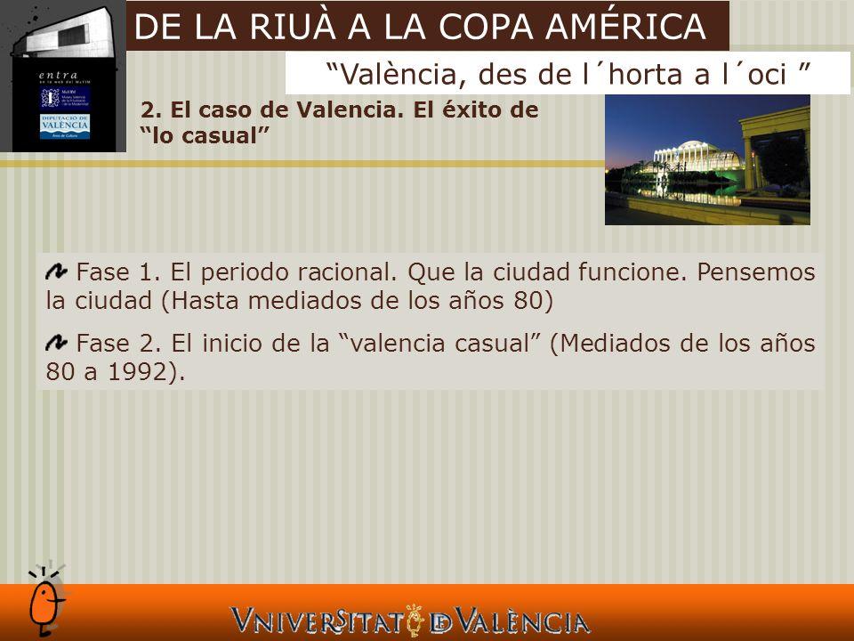 2. El caso de Valencia. El éxito de lo casual Fase 1.