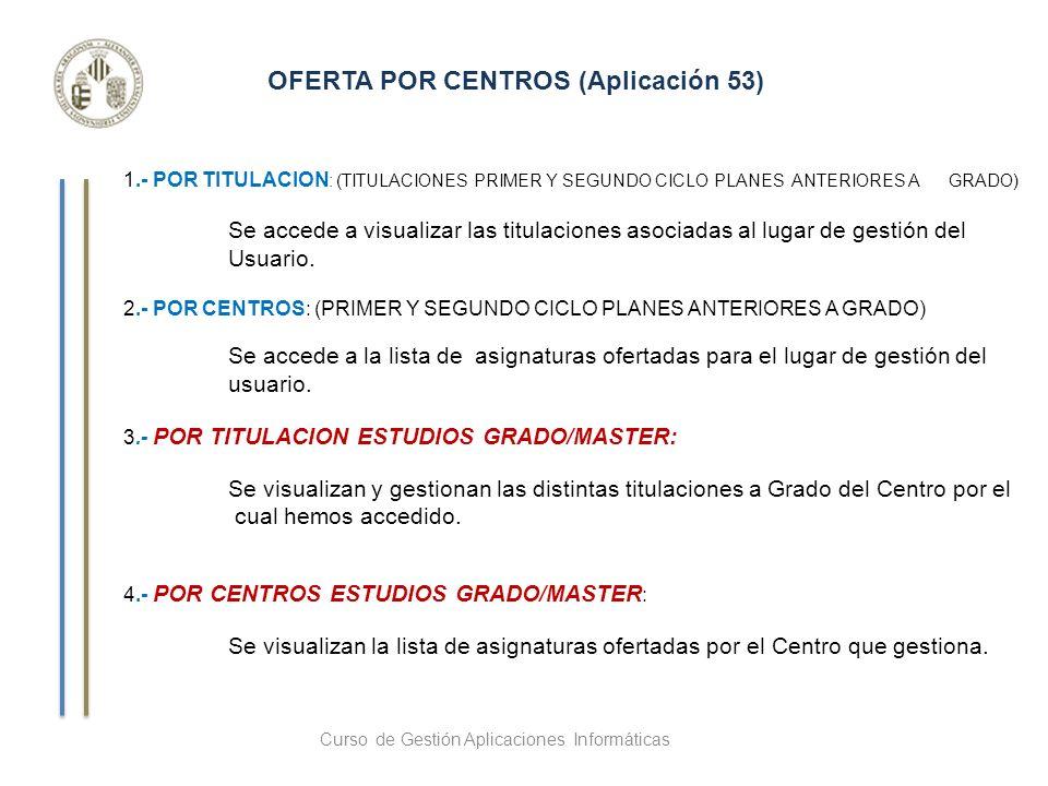 Alta de una asignatura para la Oferta del curso que corresponda Borrar todos los datos LISTA DE ASIGNATURAS 1 crédito ECTS : 25 HORAS de trabajo del estudiante