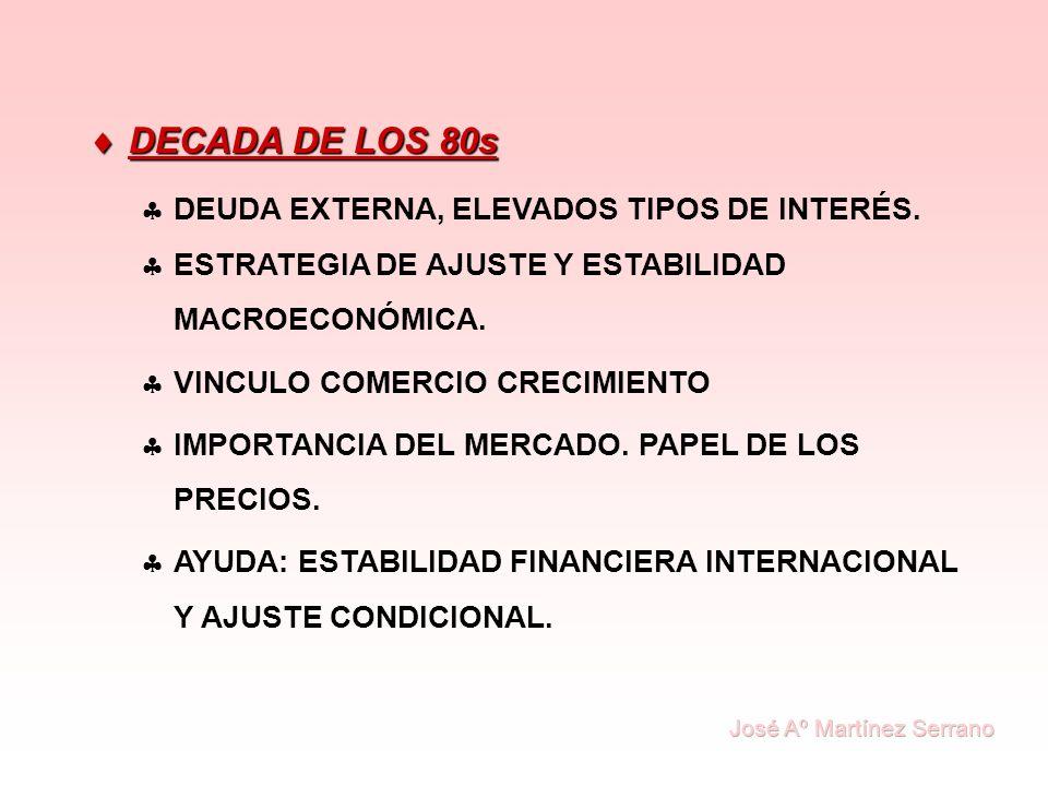 DECADA DE LOS 90s DECADA DE LOS 90s ESTABILIDAD Y AJUSTE + INSTITUCIONES Y CORRUPCIÓN + MERCADO Y RIGIDECES ESTRUCTURALES.