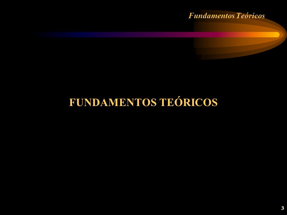 24 Fundamentos Teóricos.