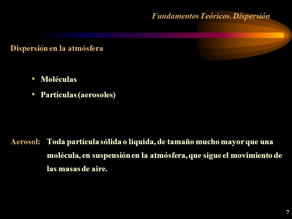 28 Caracterización aerosoles CARACTERIZACIÓN DE AEROSOLES