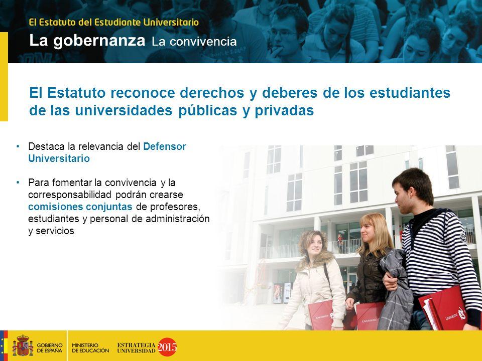 El Estatuto reconoce derechos y deberes de los estudiantes de las universidades públicas y privadas Destaca la relevancia del Defensor Universitario P
