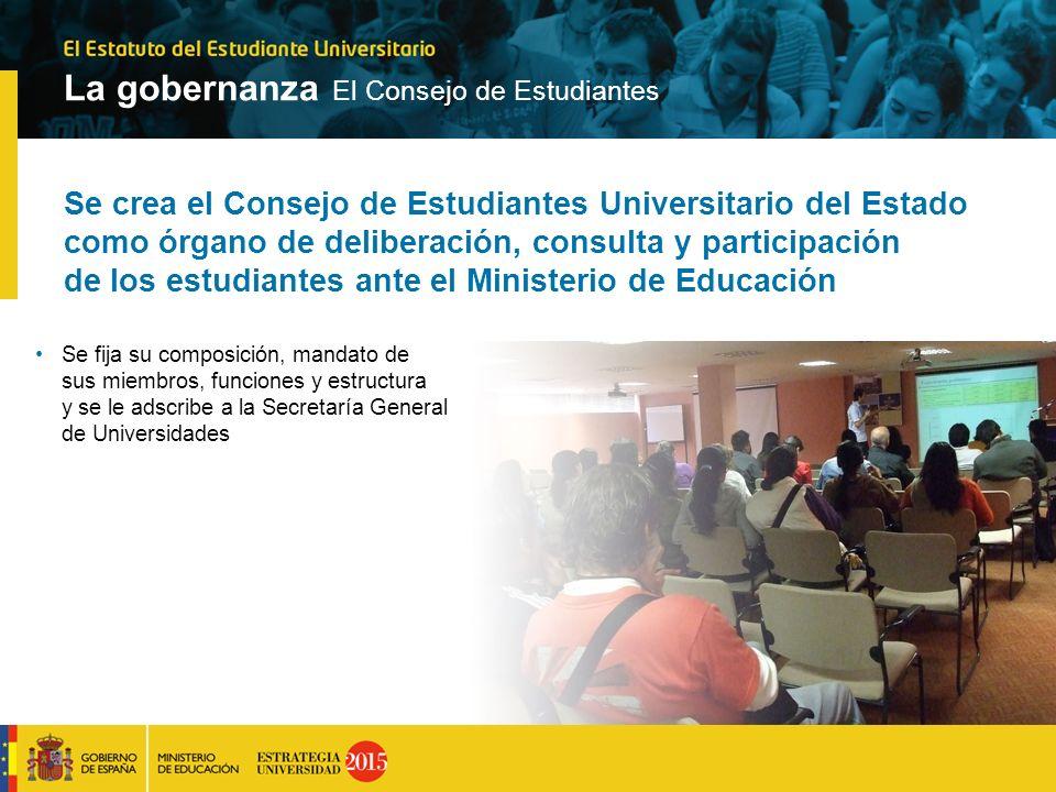 Se crea el Consejo de Estudiantes Universitario del Estado como órgano de deliberación, consulta y participación de los estudiantes ante el Ministerio