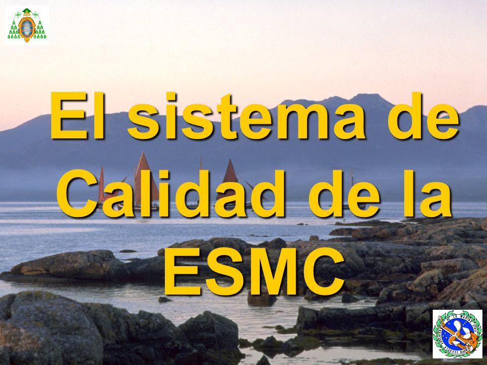 GESTIÓN DE LA CALIDAD EN LA E.S.M.C.Control y mejora de las actividades de la Escuela.