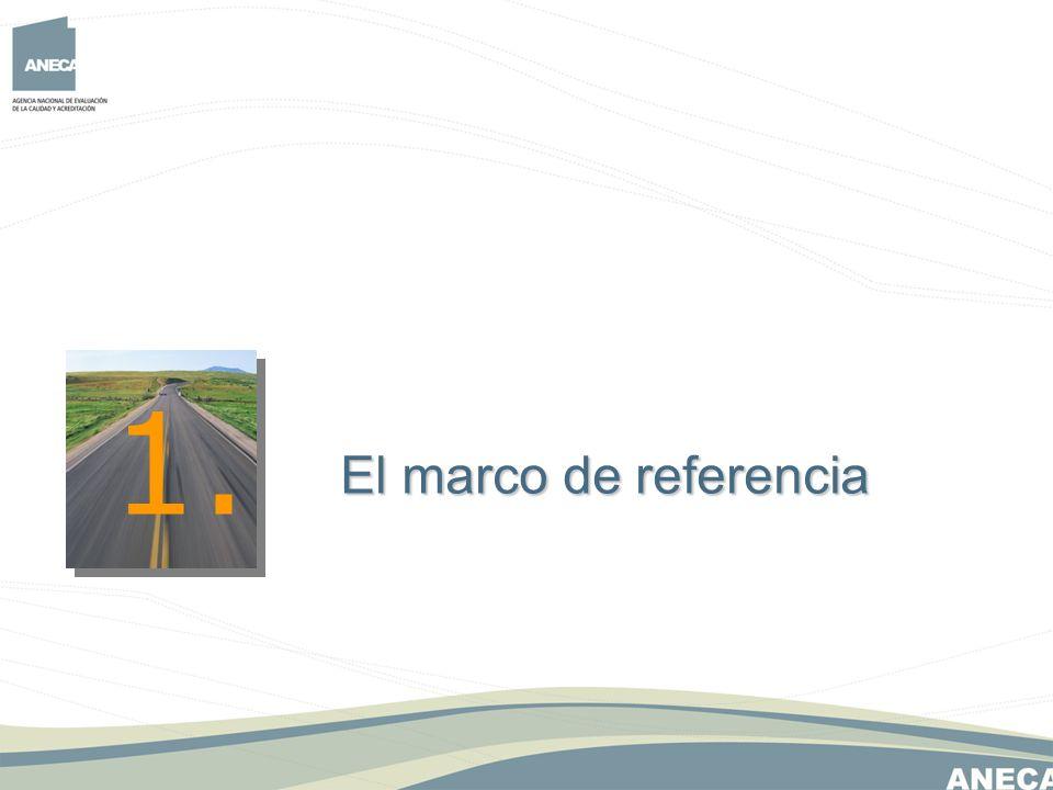 1. El marco de referencia