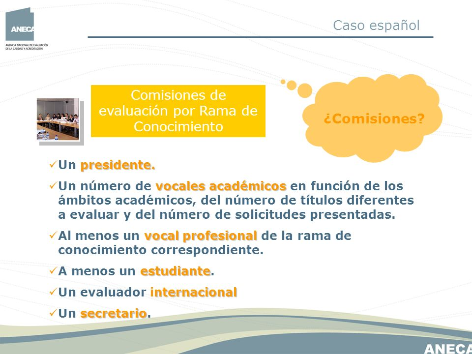 Comisión de Recursos composición El proceso