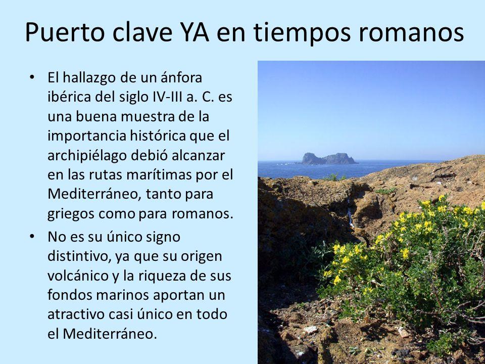 Guardapescas o policía marina Está protegido un cuadrilátero alrededor de las islas de 4.400 hectáreas.