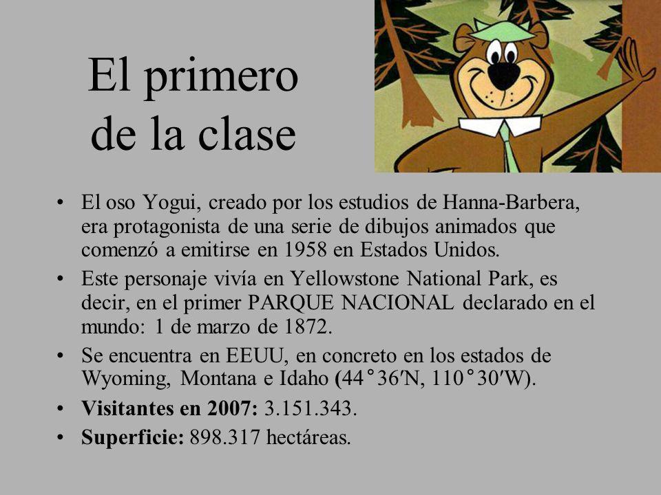 El primero de la clase El oso Yogui, creado por los estudios de Hanna-Barbera, era protagonista de una serie de dibujos animados que comenzó a emitirs