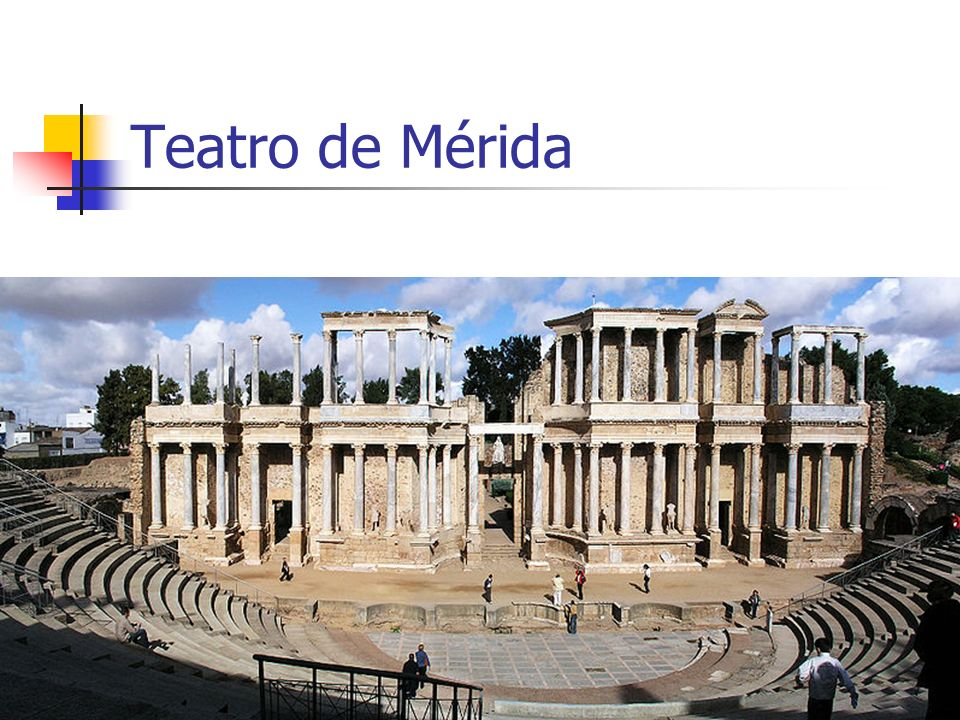 Arte Romano12 Teatro de Mérida