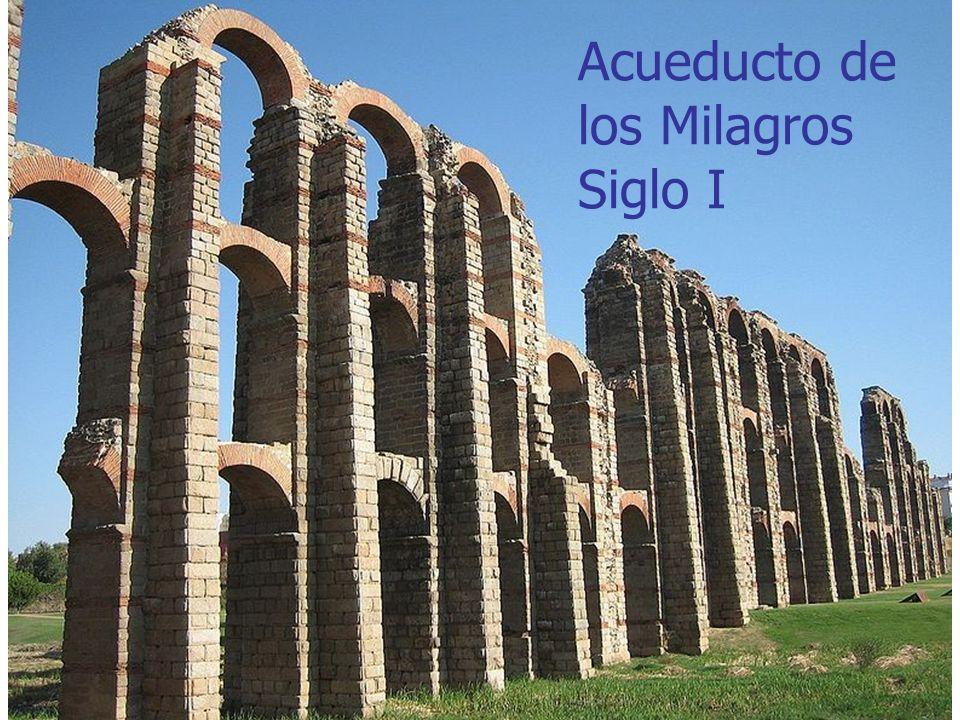 Arte Romano18 Acueducto de los Milagros Siglo I