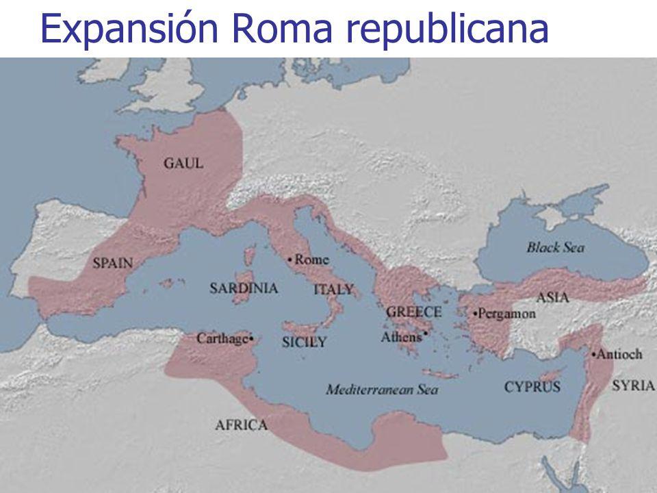 2 Expansión Roma republicana
