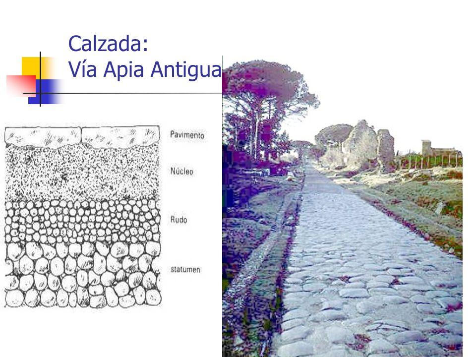 Arte Romano20 Calzada: Vía Apia Antigua