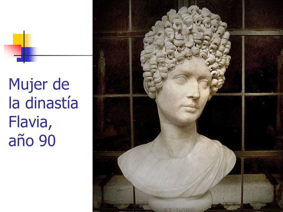Arte Romano27 Mujer de la dinastía Flavia, año 90
