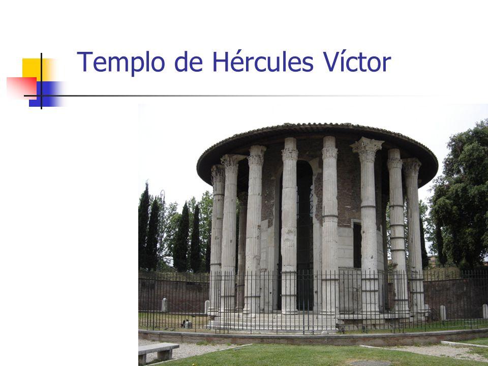 Arte Romano6 Templo de Hércules Víctor