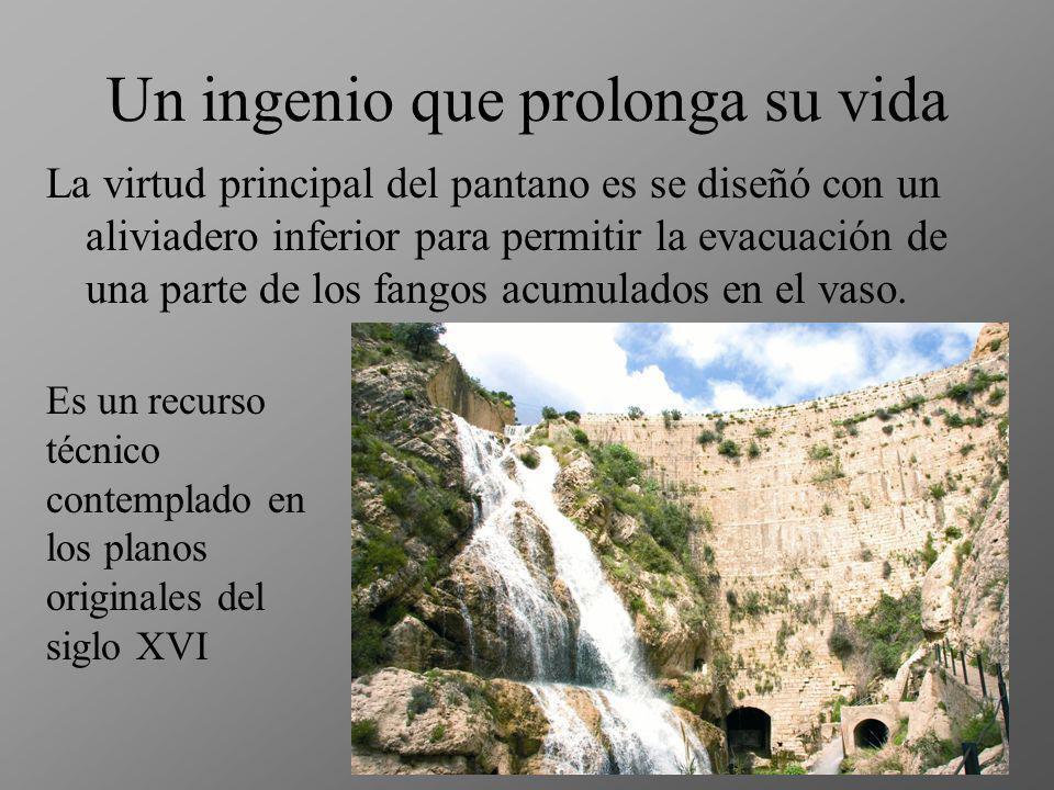 Grandes ingenieros La presa de Tibi se construyó a finales del siglo XVI, en tiempos de Felipe II. Los planos son atribuidos al arquitecto Juanelo Tur