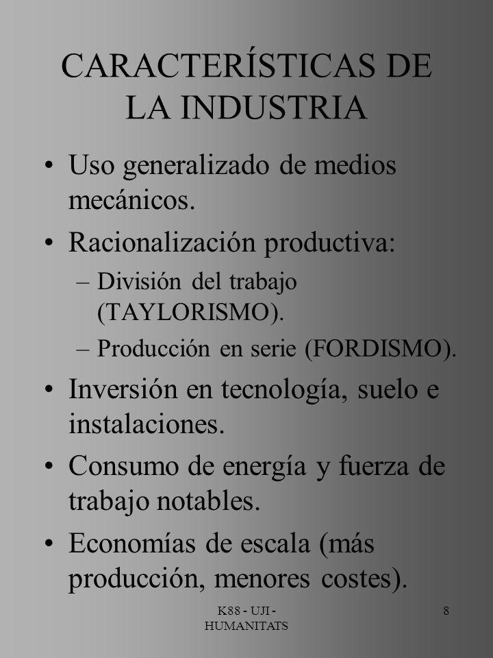 ¿SUBJETIVO 100%? ¿Qué factor pesa más en la localización de una industria?