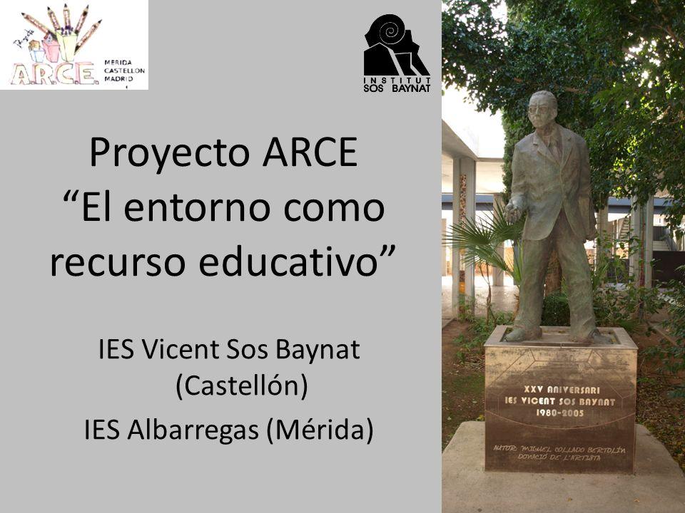 El Prat de Cabanes- Torreblanca Proyecto ARCE El entorno como recurso educativo Diego Vergara (4ºESO-B)