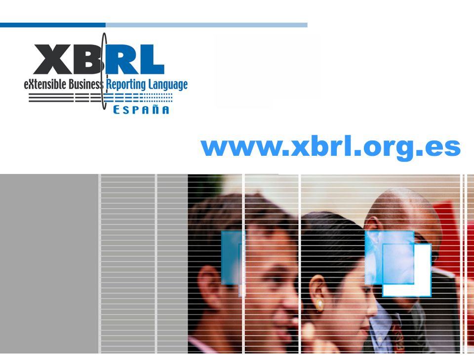 (logotipo) La CNMV ante XBRL Como - Impulsar las Taxonomías vinculadas con los E.