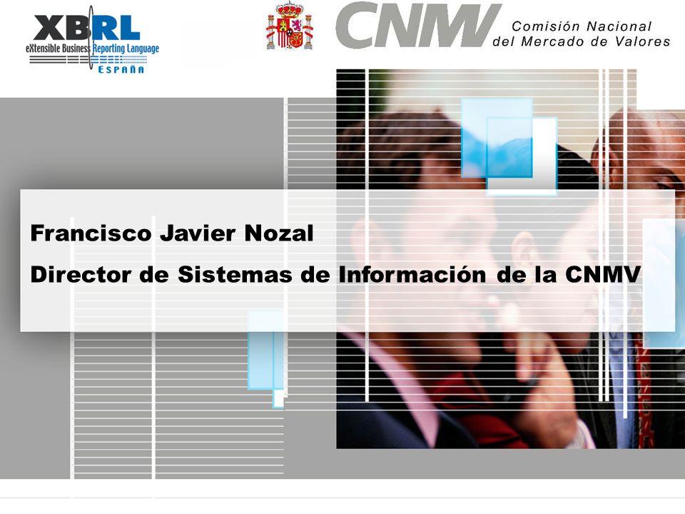 Francisco Javier Nozal Director de Sistemas de Información de la CNMV