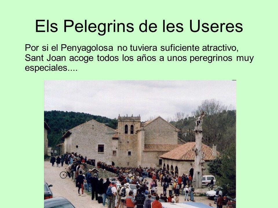Els Pelegrins de les Useres Por si el Penyagolosa no tuviera suficiente atractivo, Sant Joan acoge todos los años a unos peregrinos muy especiales....