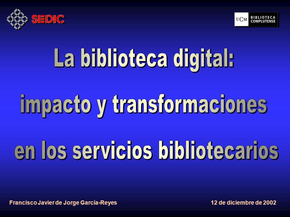 12 BIBLIOTECA DE LA UNIVERSIDAD COMPLUTENSE.