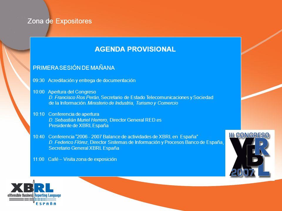 PRIMERA SESIÓN DE MAÑANA 09:30 Acreditación y entrega de documentación 10:00 Apertura del Congreso D.