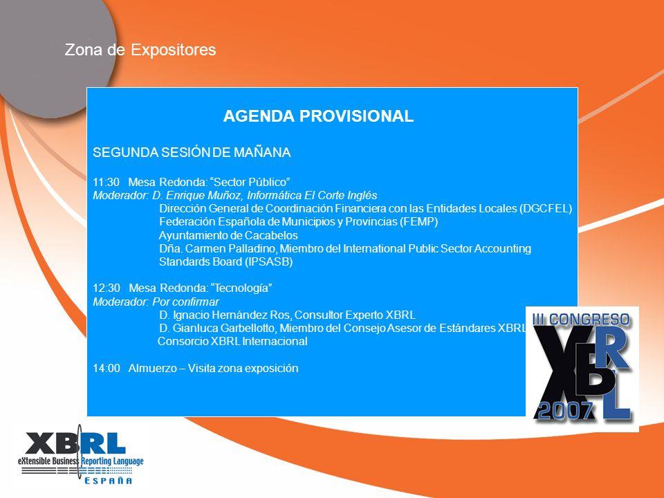 SEGUNDA SESIÓN DE MAÑANA 11:30 Mesa Redonda: Sector Público Moderador: D.
