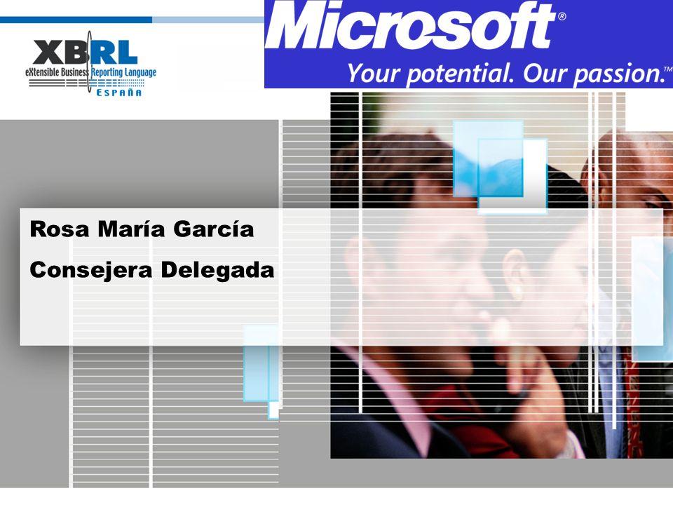 Rosa María García Consejera Delegada