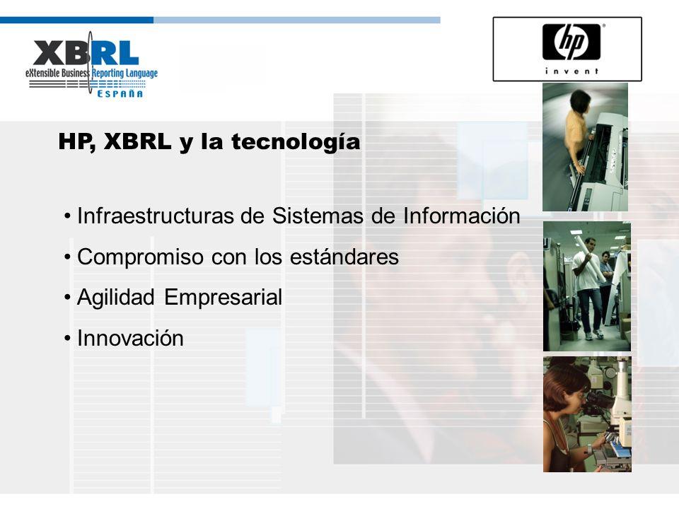 XBRL España, un paso más en el compromiso con la innovación de HP en España Inversión continuada desde 1985.