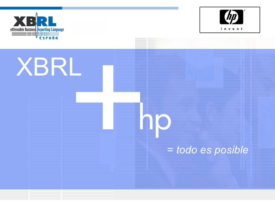 XBRL = todo es posible