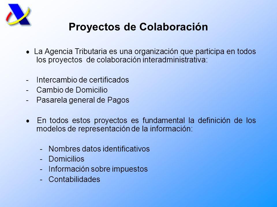 Participación Organismos internacionales En el ámbito de la Unión Europea Intercambios de información fiscal en los campos de aduanas y fiscalidad directa e directa (VIES, Servicios electrónicos, Colaboración en Recaudación).