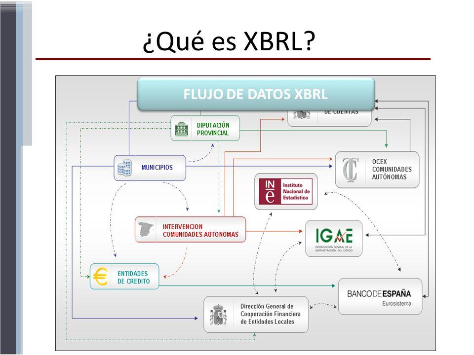 FLUJO DE DATOS XBRL