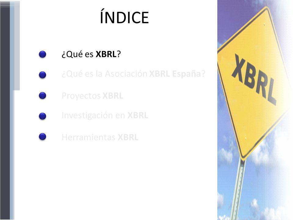 En XBRL existen dos niveles: INSTANCIASTAXONOMÍAS ESQUEMASLINKBASES ¿Qué es XBRL.