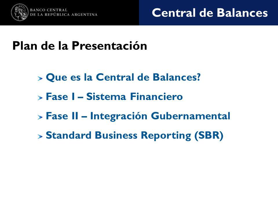 Nombre de la presentación en cuerpo 17 ¿Qué es la Central de Balances.