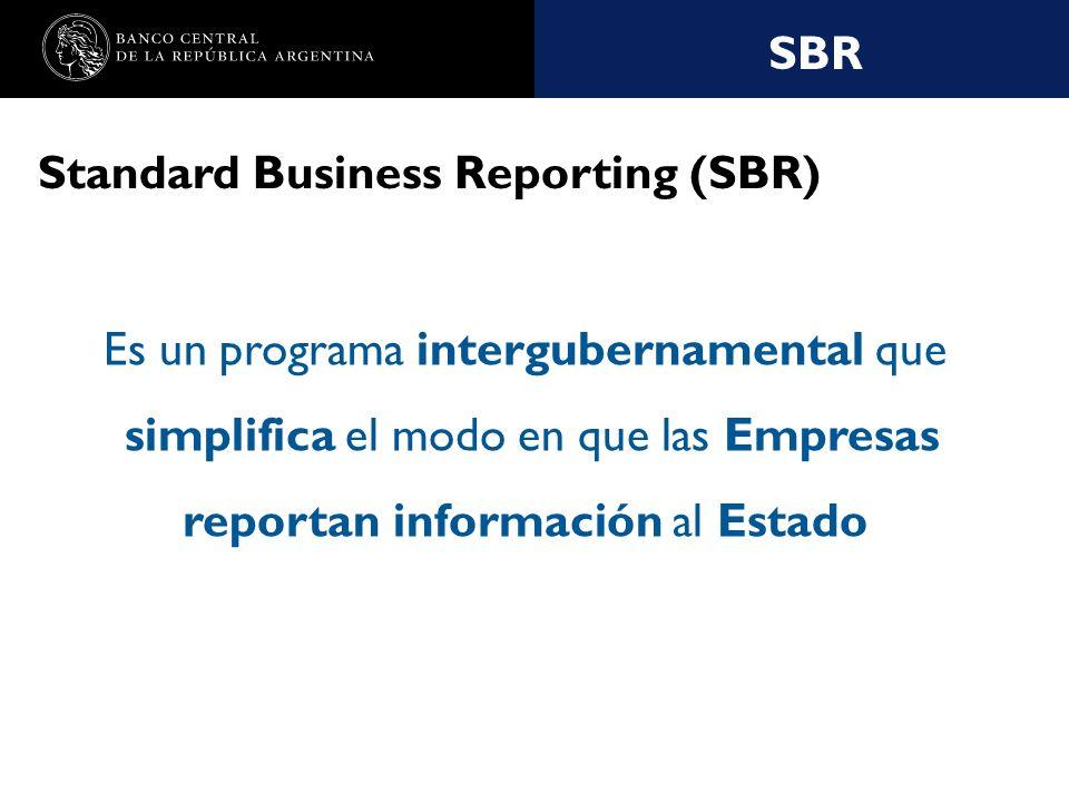 Nombre de la presentación en cuerpo 17 SBR SBR - Características Reducción del numero de canales mediante los cuales las empresas reportan al gobierno Reducción del volumen de reportes de empresas al Estado Consolidación hacia un lenguaje único de intercambio de información Coordinación entre el Gobierno, las Empresas, la Profesión Contable y los Desarrolladores de software