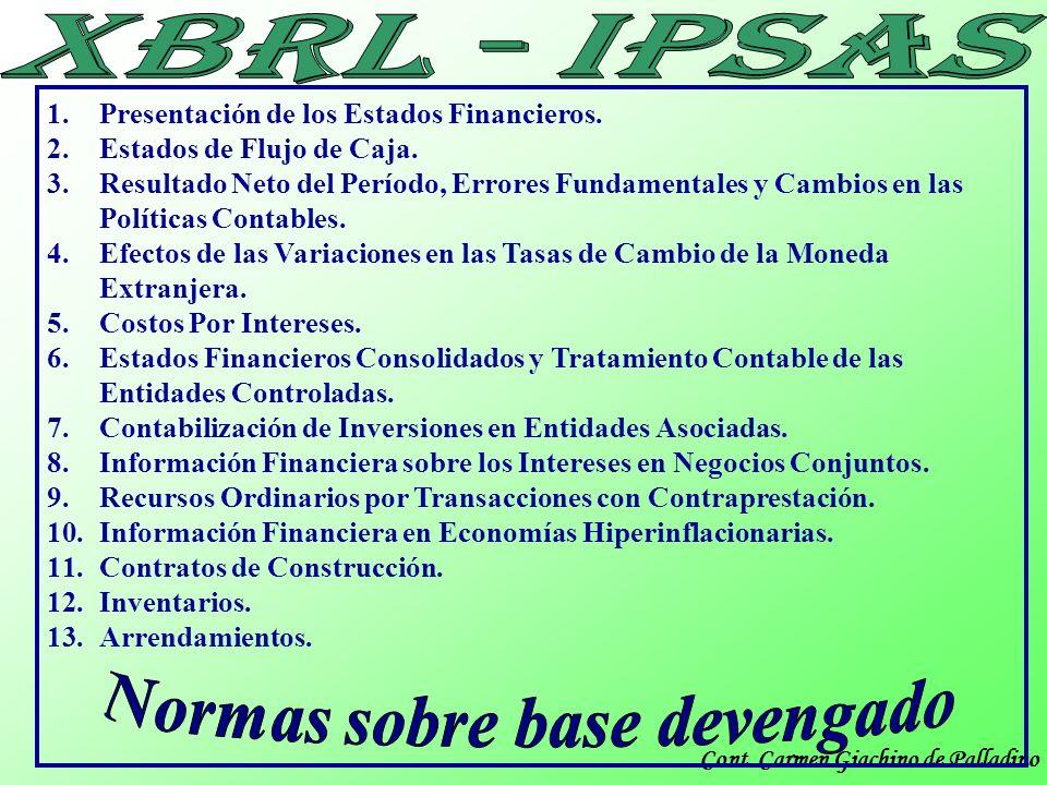 Cont. Carmen Giachino de Palladino Muchas Gracias IPSASs