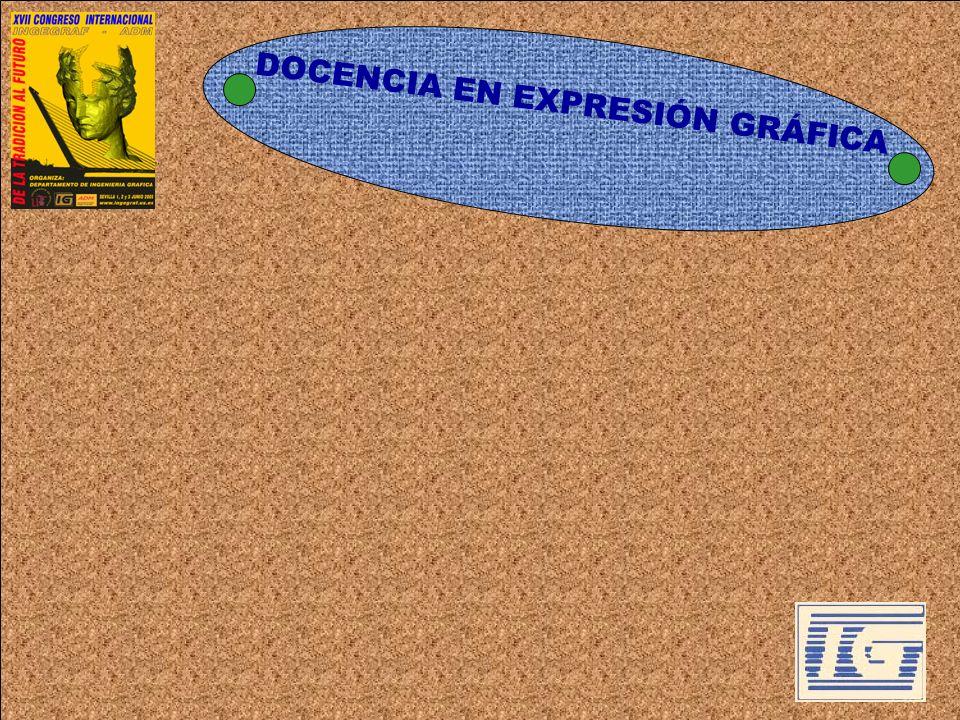 DOCENCIA EN EXPRESIÓN GRÁFICA Influencia de Bolonia: enseñanza centrada en el alumno.