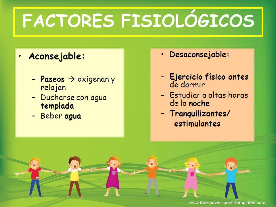 FACTORES PSICOLÓGICOS IMPLICACIÓN PERSONAL Éxitos y fracasos DETERMINAN ACEPTACIÓN vs COMPARACIÓN MOTIVACIÓN 1.Objetivos que se persiguen 2.
