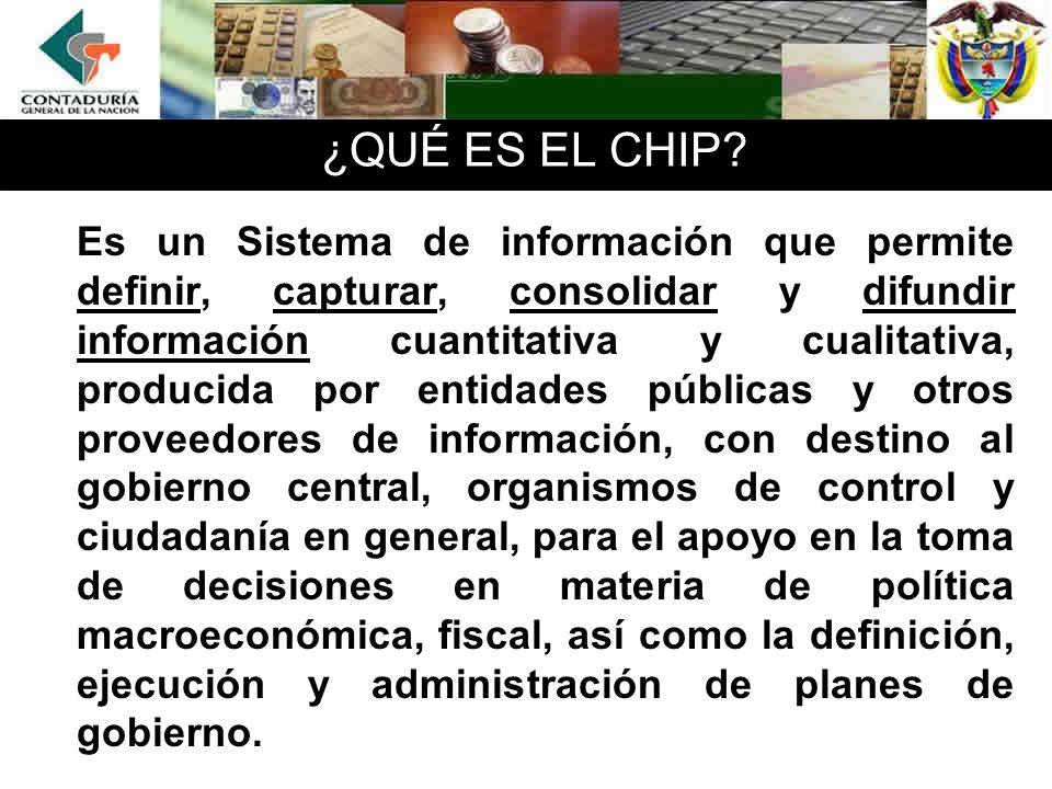 ¿QUÉ ES EL CHIP.