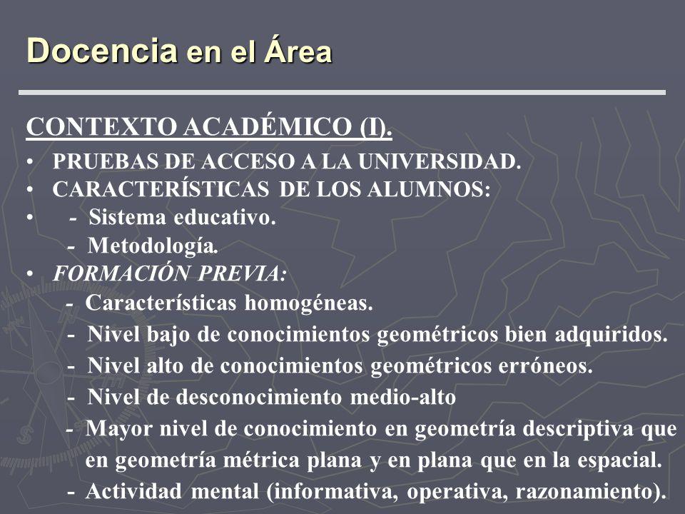 CONTEXTO ACADÉMICO (II).RECOMENDACIONES O SUGERENCIAS.