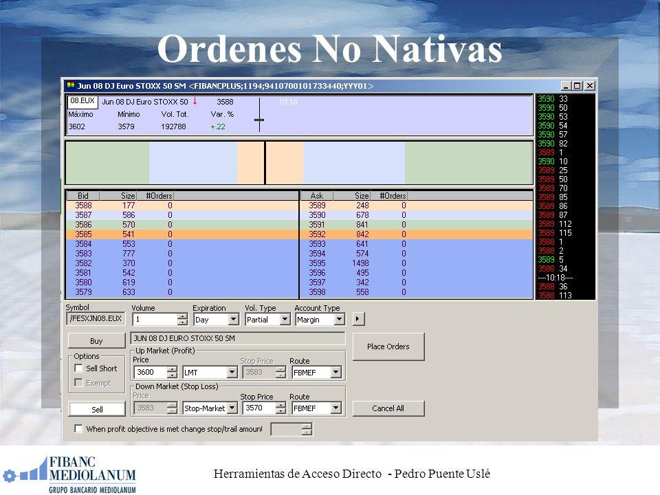 Herramientas de Acceso Directo - Pedro Puente Uslé Ordenes No Nativas