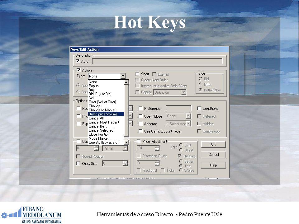 Herramientas de Acceso Directo - Pedro Puente Uslé Hot Keys