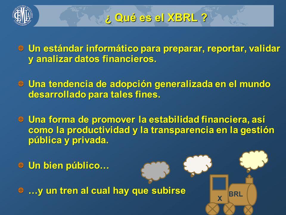 ¿ Qué es el XBRL .